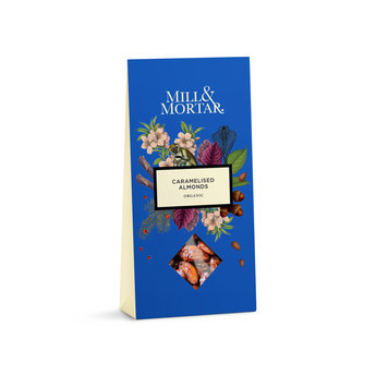 Mill & Mortar Caramelised Almonds , Mill & Mortar, Organic