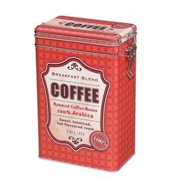 Koffie bewaardoos Rood