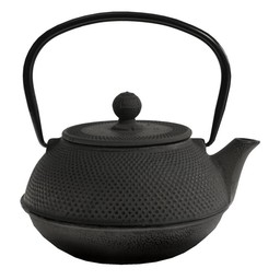 Teaclassix Theepot gietijzer Arare 1.1l - Zwart