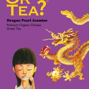 Or Tea Dragon pearl jasmine Or Tea, blik losse thee 75gr