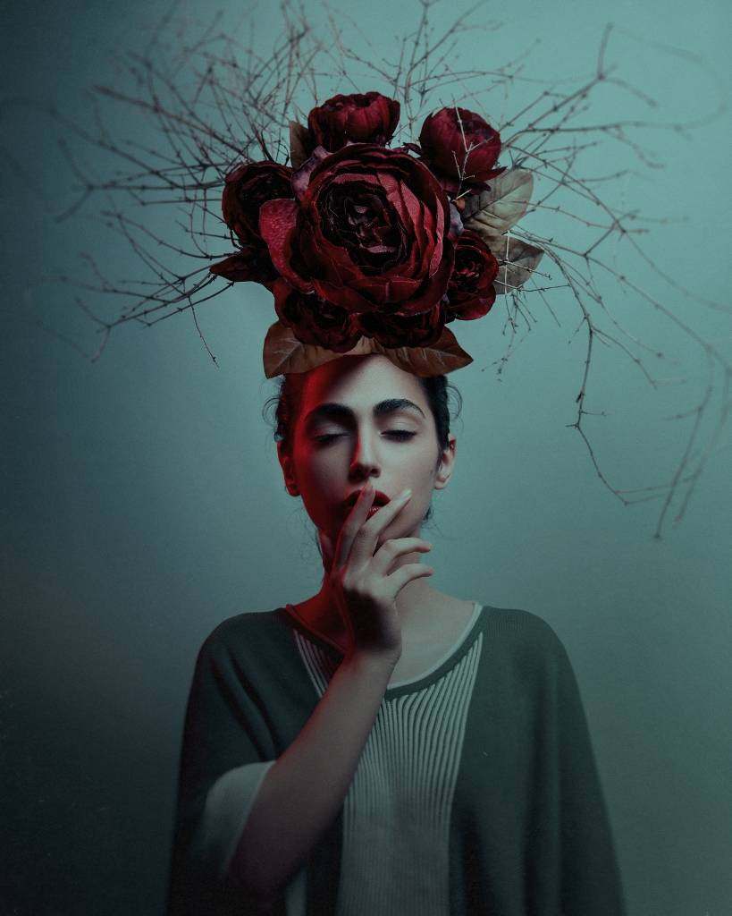 Umo Art Gallery Floral hat