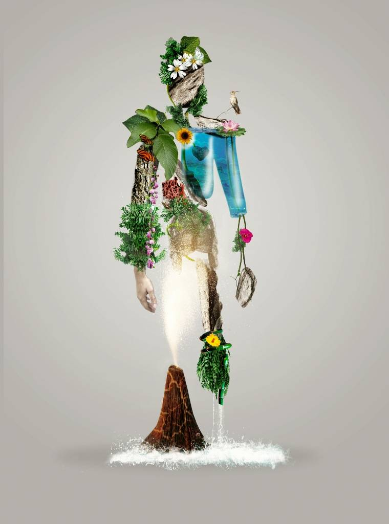 Umo Art Gallery The fantasy Nature man