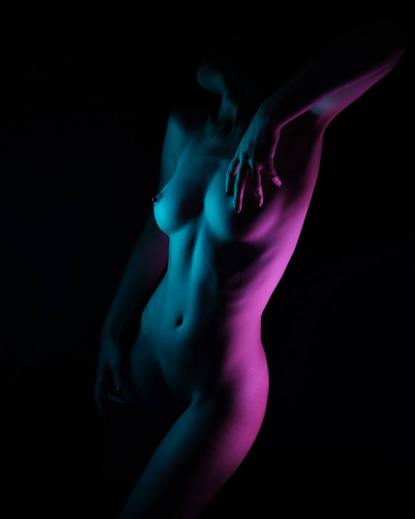 Umo Art Gallery Purple Blue