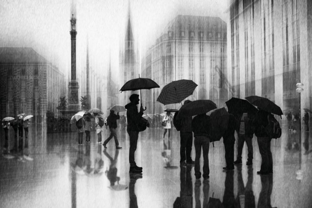 Umo Art Gallery Rain in Munich