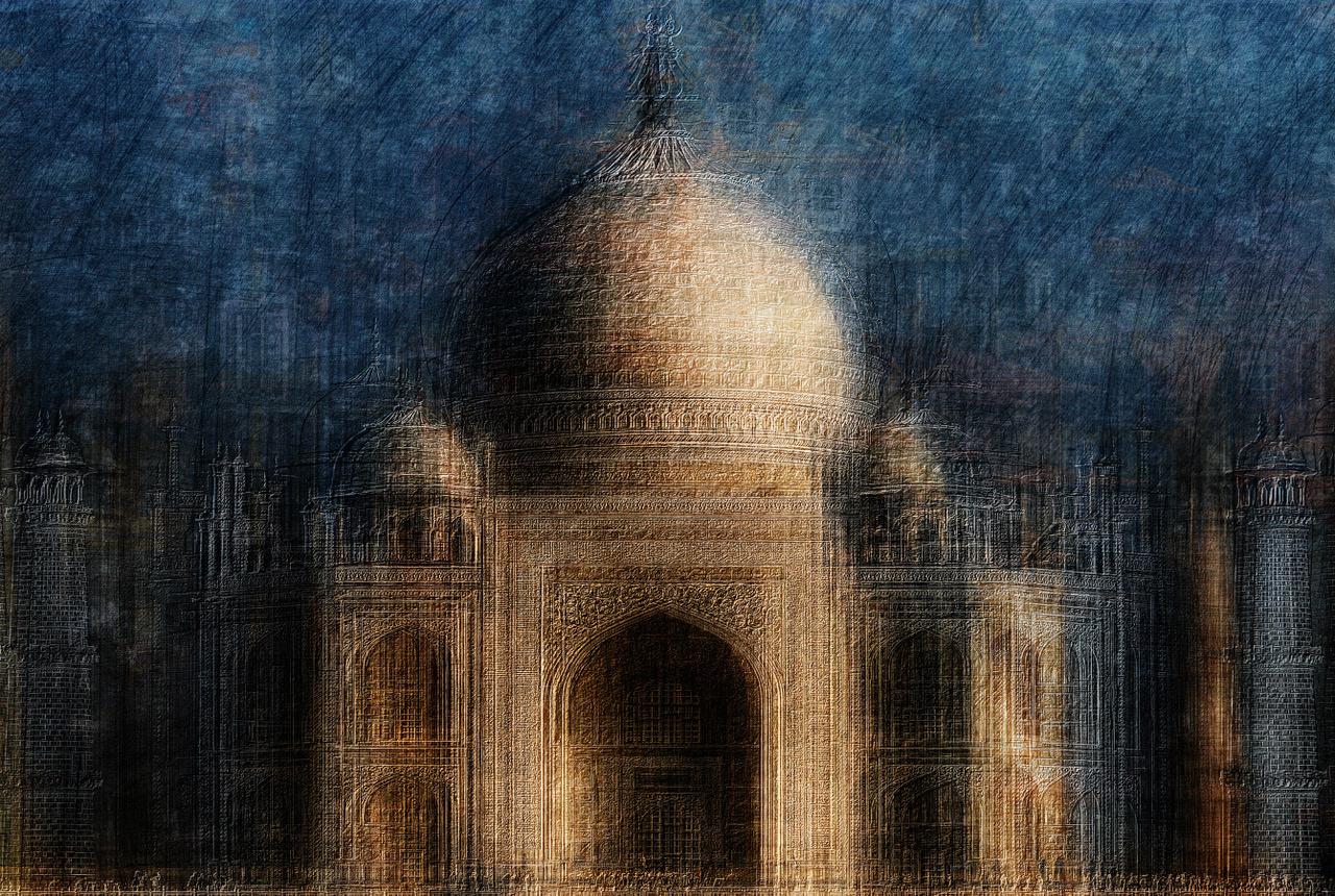 Umo Art Gallery Taj Mahal