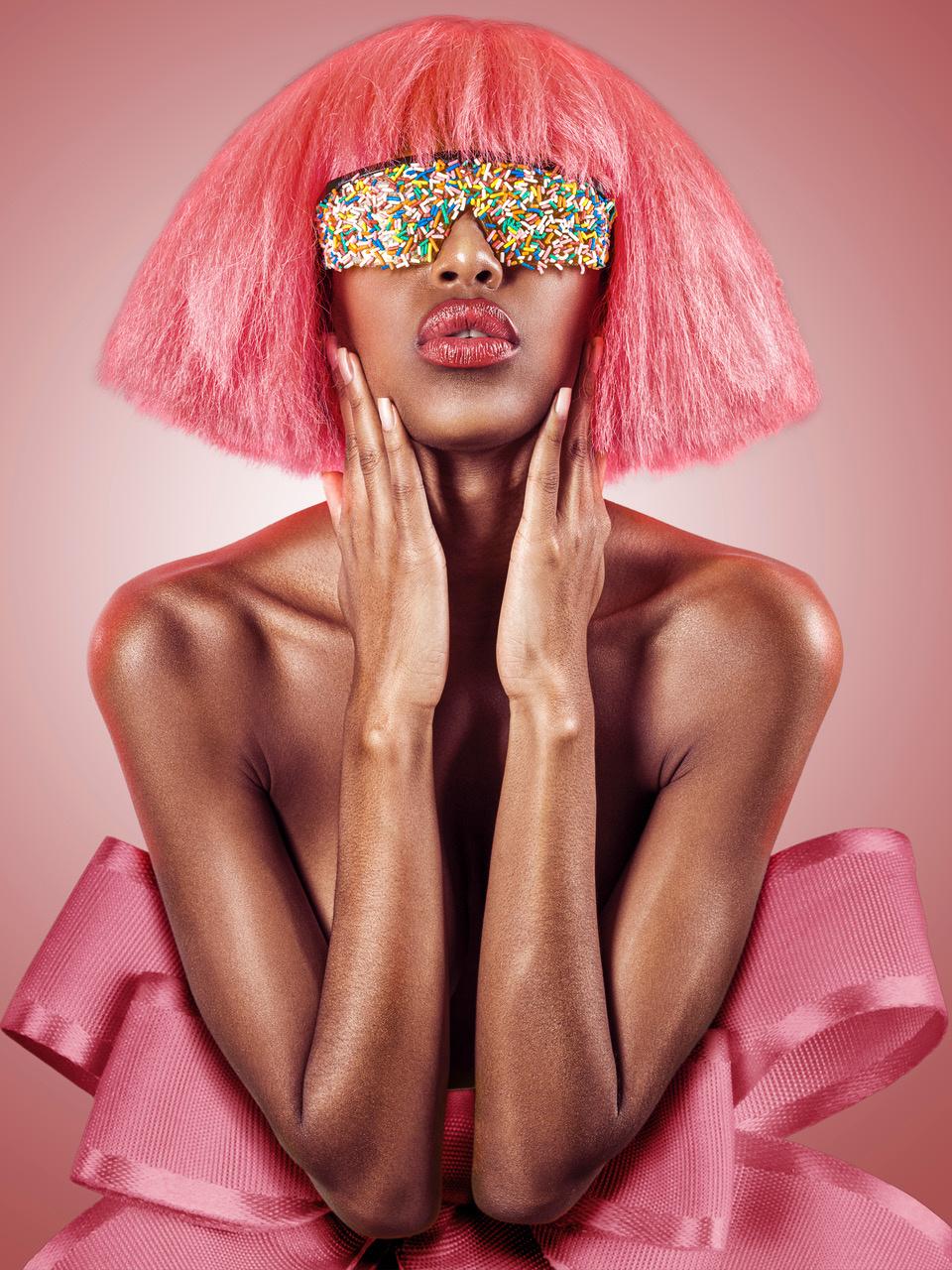 Umo Art Gallery Candy Eyes Pink