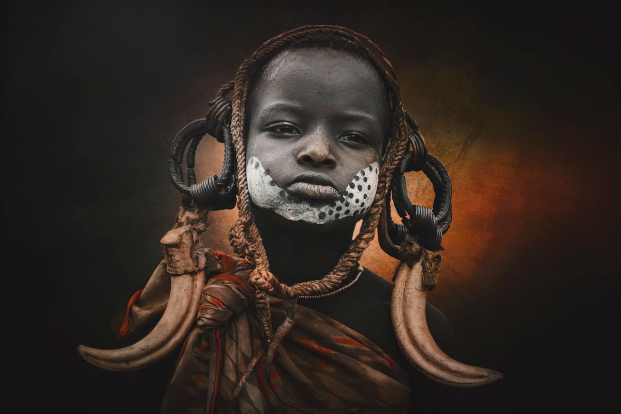 Umo Art Gallery Child Mursi 3