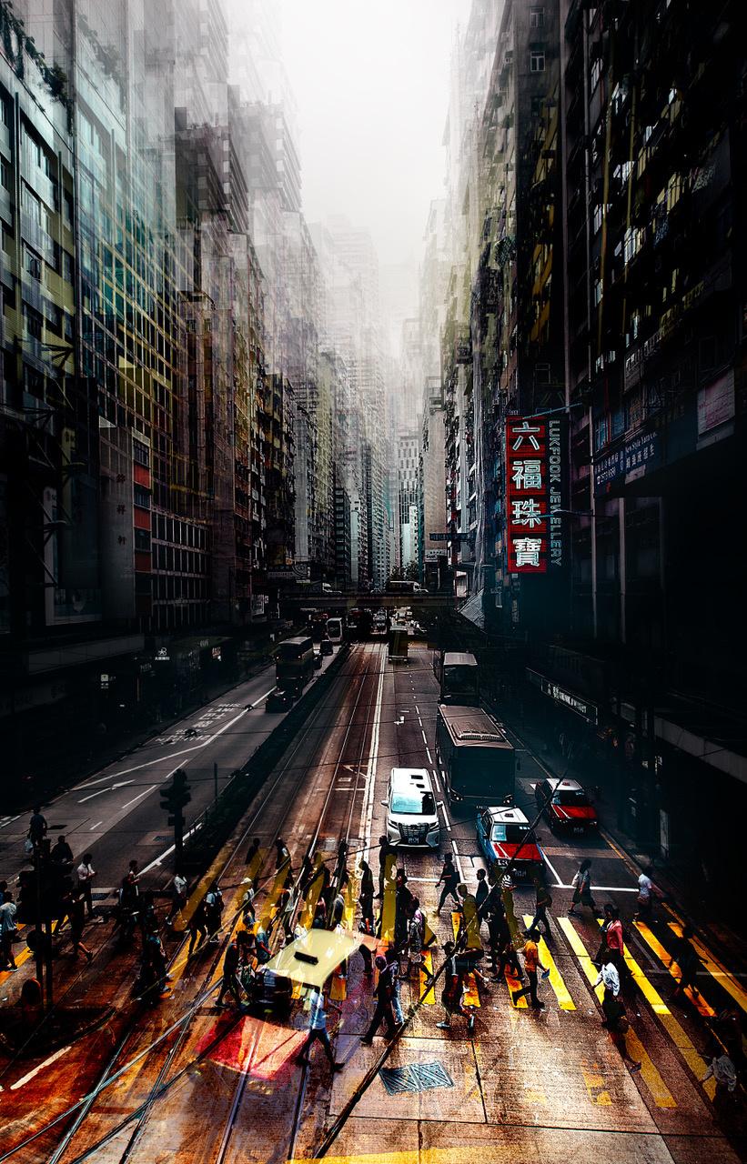 Umo Art Gallery streets of Hong Kong
