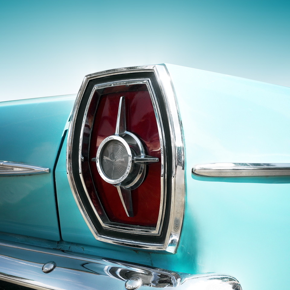 Umo Art Gallery US classic car galaxie 500 1965