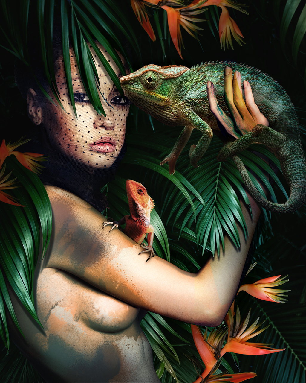 Umo Art Gallery HER NATURE - LIZARD