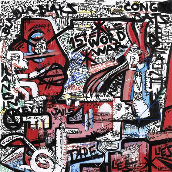 Montxo Oiarbide GRAFFITI III
