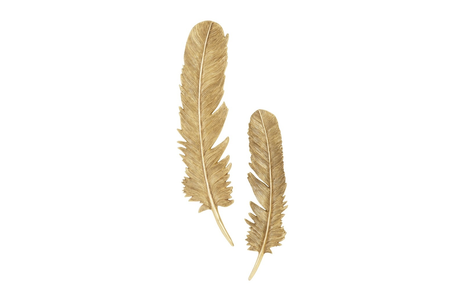 Umo Art Gallery Feathers S set of 2 Gold