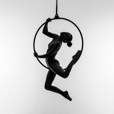Umo Art Gallery Aerial hoop2