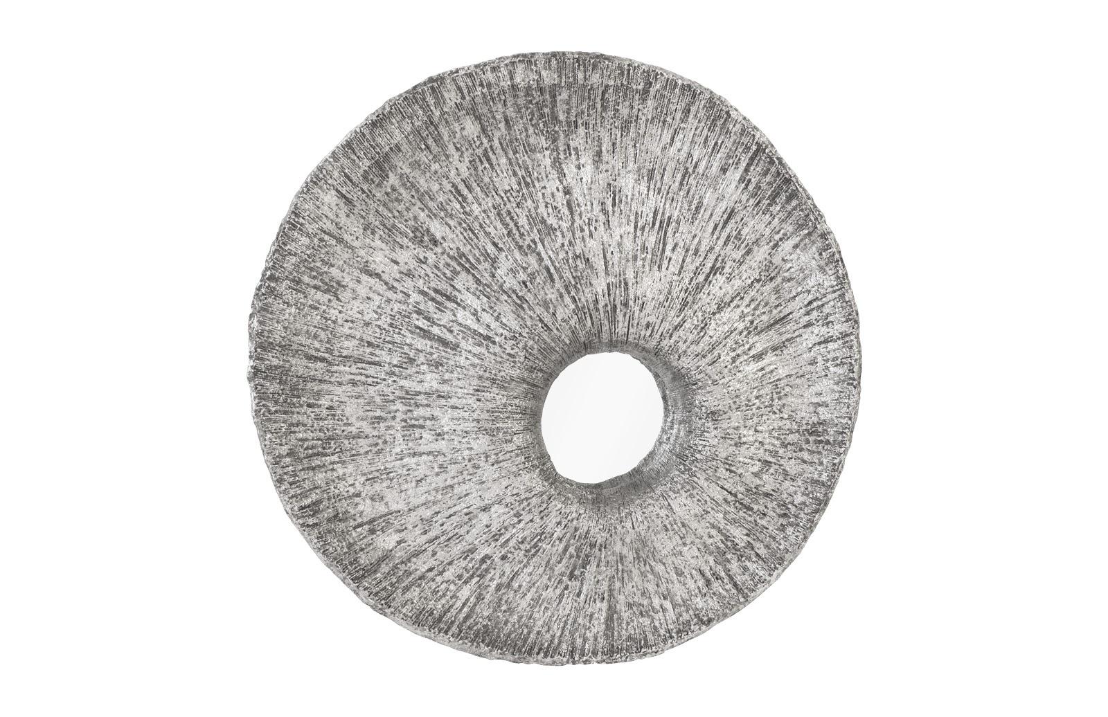Umo Art Gallery Convergence Mirror Silver Leaf