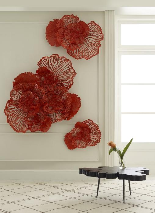 Umo Art Gallery Flower Wall Art M