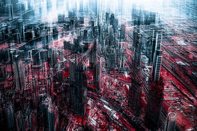 Umo Art Gallery City Apocalypse