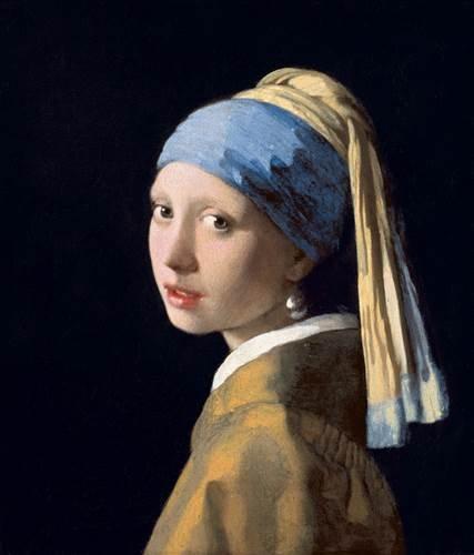 Mauritshuis Johannes Vermeer, Meisje met de parel, c. 1665