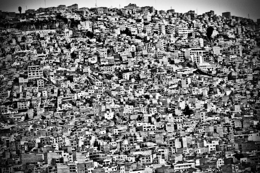 Umo Art Gallery Favela Village in El Alto, La Paz, Bolivia