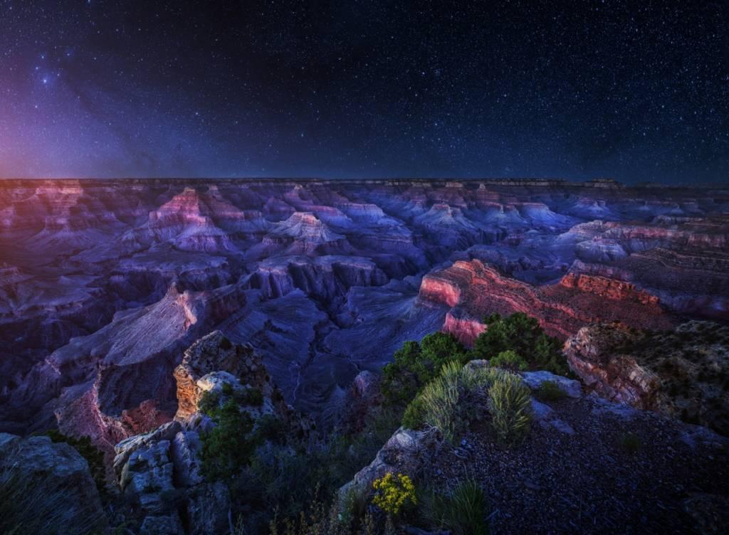 Umo Art Gallery Grand Canyon Night