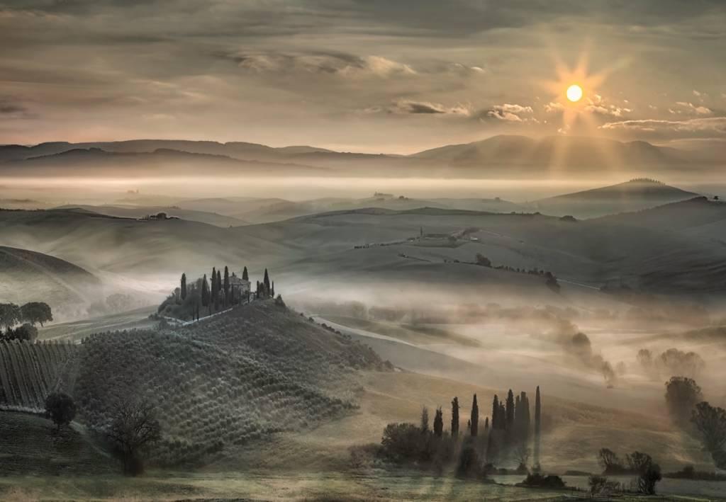 Umo Art Gallery Tuscan Morning