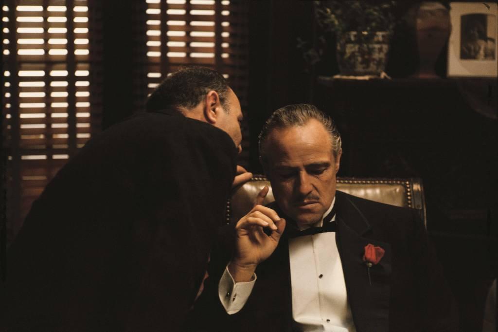 Umo Art Gallery MARLON BRANDO (Vito Corleone) in film THE GODFATHER