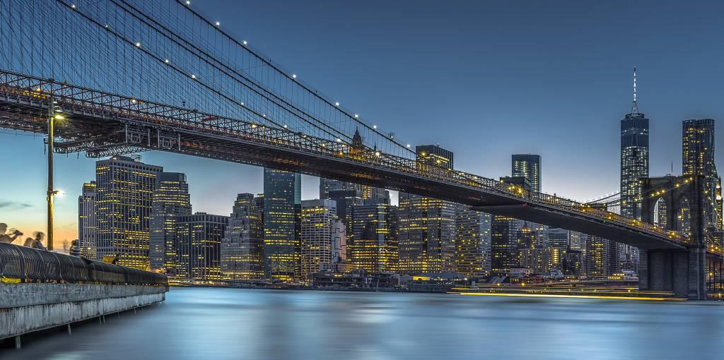 Umo Art Gallery New York - Blue Hour over Manhattan
