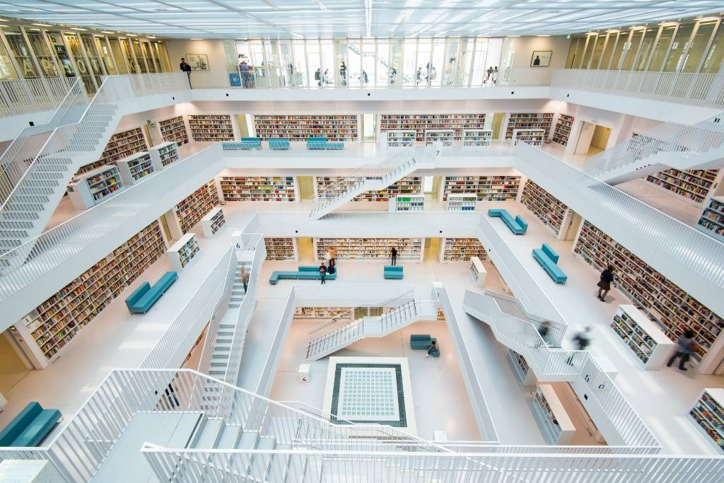 Umo Art Gallery Library Stuttgart
