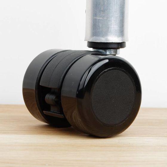 Meubelwiel dubbelrol 35 mm harde vloeren