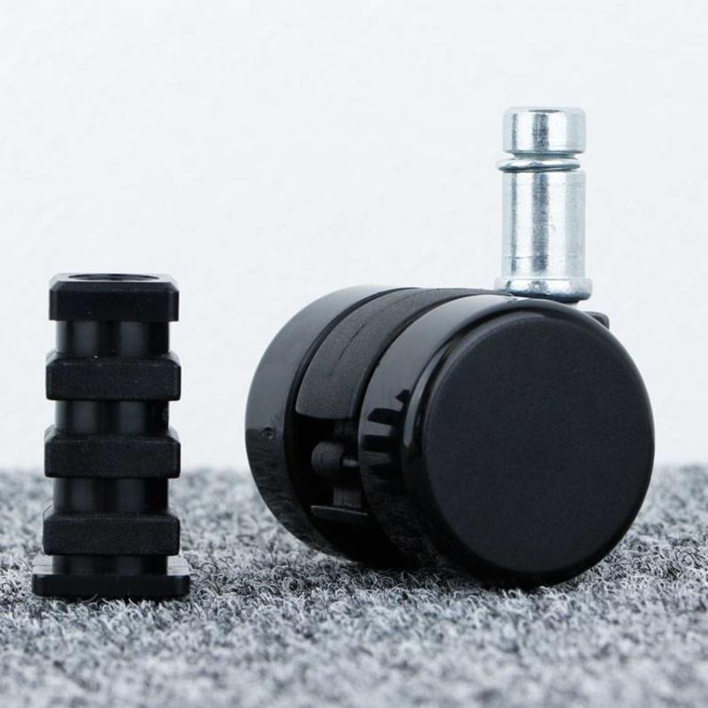 Meubelwiel 35 mm hard loopvlak met vierkante dop