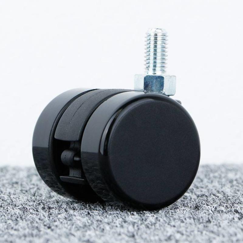 Meubelwiel 35 mm hard loopvlak met schroef