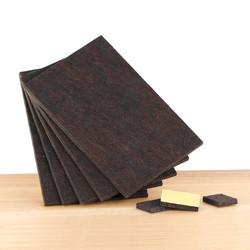 Plakvilt rechthoekig 5,5 mm donkerbruin