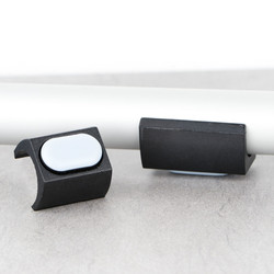 Glijder UNI-XL met teflon voor buisframes