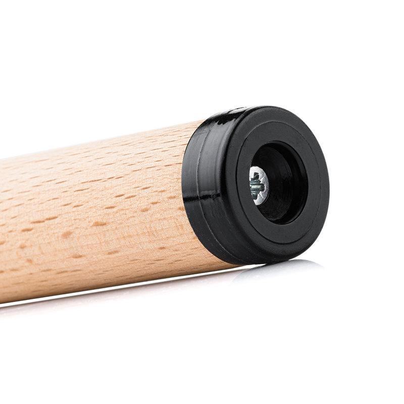 PVC glijder rond met schroef-bevestiging