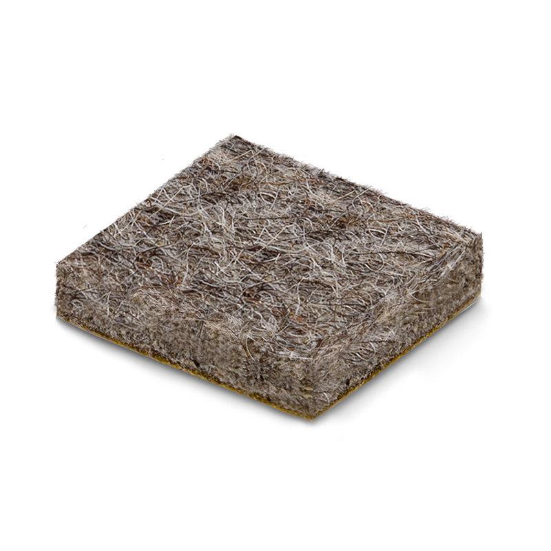 Wolvilt zelfklevend vierkant / rechthoekig (zware kwaliteit)