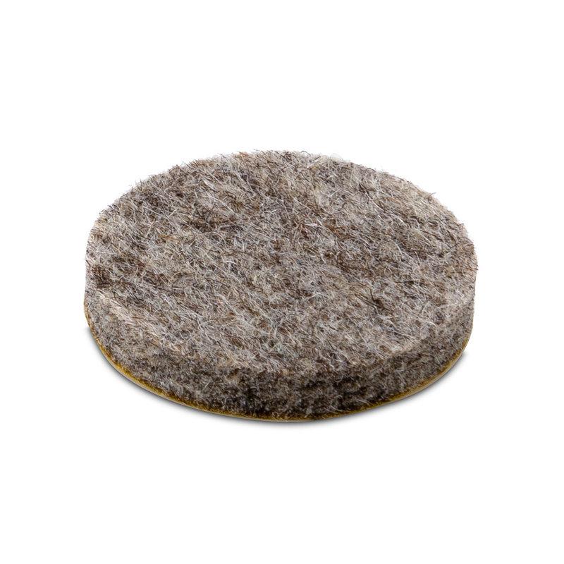 Voorraad Zelfklevend wolvilt 5,0 mm (Stiffened)