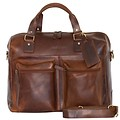 manbefair TRAVEL BAG VENEZIA leather antique brown