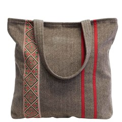 manbefair TWEED SHOPPER MIRAGE beige