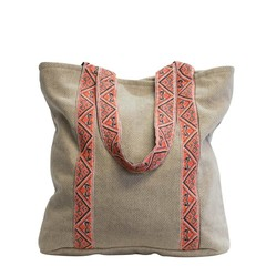 TWEED TOTE SHOPPER DUBLIN beige
