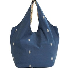 HOBO BAG BEACH blue