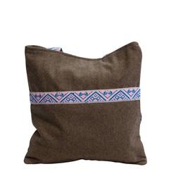 manbefair TWEED TOTE BAG CELINE brown