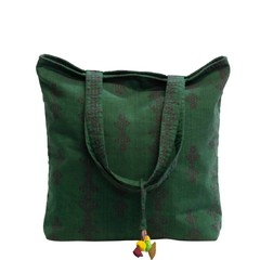 manbefair BIG TOTE BAG MODENA green