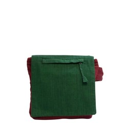 CROSS BODY BAG SUN red and green