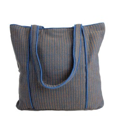 manbefair TWEED SHOPPER CHER navy-orange