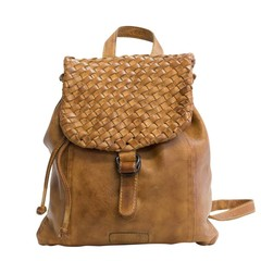 manbefair BACKPACK ROSALIE leather cognac