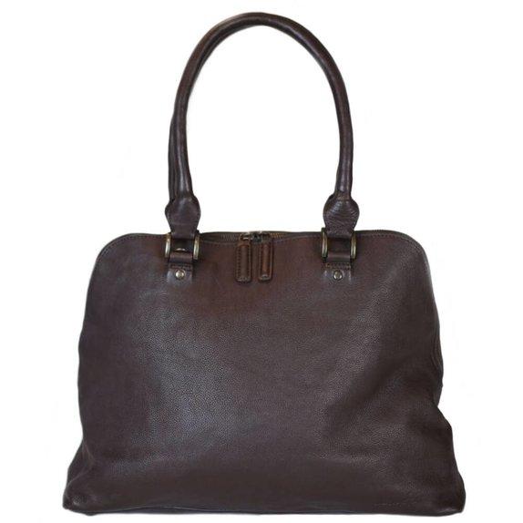 manbefair LAPTOP BAG SHOPPER HELENA brown