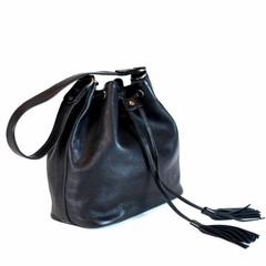 MACY SHOULDER BAG leather black