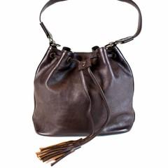 manbefair MACY SHOULDER BAG leather brown