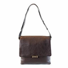 CLUTCH MIRANDA eco-leather brown