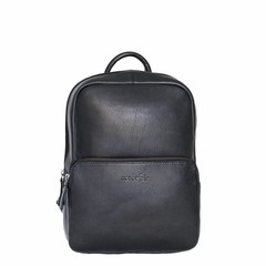 manbefair BACKPACK LOUISA leather black