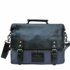 manbefair LAPTOP BAG ERIK canvas blue